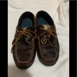 Timberland slip on loafers size 9